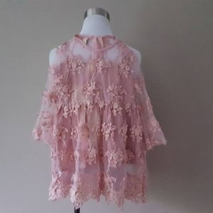 Other - Size 4 / Dusty Pink Lace Dress / Girls